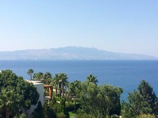 View on Kos