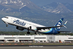 Alaska Airlines / Boeing 737-990(ER) / N251AK departure from Ted Stevens Anchorage International Airport, Alaska (Angel Moreno Photography) Tags: alaskaairlines boeing737990er n251ak tedstevensanchorageinternationalairport alaska airport anchorage airplane plane aircraft planespotter boeing b739