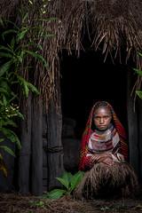 Girl of Papua with Noken (tehhanlin) Tags: wamena indonesia noken tribe danitribe culture portrait lembahbaliem baliem papua travel ngc sony