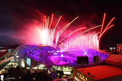 2017 世大運閉幕煙火 Taipei 2017 Summer Universiade closing ceremony fireworks. (Steven Weng) Tags: 2017 世大運 閉幕 煙火 fireworks canon eos5d2 ef1740 taiwan taipei universiade fisu summer closing ceremony 台灣 台北