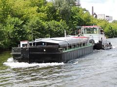 Biber mit OP 3252 (ENI 05032520) (Parchimer) Tags: schubboot pushboat towboat pousseur pchacz duwboot spintore empurradorfluvial binnenschiff tolómotorhajó pushertug wsa eisenhüttenstadt spreeoderwasserstrasse