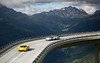 Brother From Another Mother. (Alex Penfold) Tags: ferrari enzo yellow white blue maserati mc12 supercars supercar super car cars autos alex penfold 2017 switzerland gotthard pass hypercar hypercars hyper