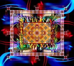 Authentic New (mfuata) Tags: authentic özgün symmetry simetri designe desen figure şekil color renk loop döngü bordure bordür