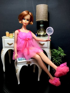 Hair Happenin's Barbie in Baby Doll Pinks