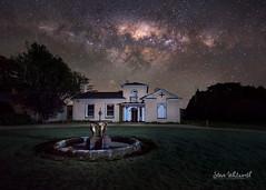 Woolmers' Heritage Estate (SteveWhitworthPhoto) Tags: australia tasmania northerntasmania longford woolmers heritage historical history milkyway stars astrophotography astro longexposure lightpainting nikon nikond800e nikon1424mmf28