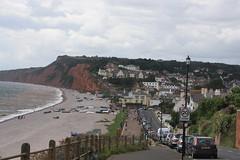 Budleigh Salterton (lazy south's travels) Tags: budleighsalterton east devon england english britain british jurassiccoast beach sea side seaside town