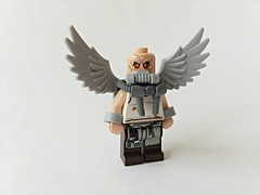 Slight-verse Vulture (Entry to EA Customs Contest) (slight.of.brick) Tags: lego minifig marvel comics vulture supervillain