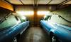 Twin Herses (JWDonley_photos) Tags: stilllife funeral interior chickasha garage car herse funeralhome oklahoma