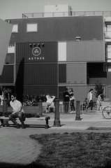 Hayes Valley Gentry (larsupreme) Tags: kentmere100 blackwhite 35mm asahi pentax k1000