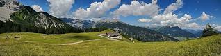 Hochfeldern Alm (1750m) im Gaistal, Tirol - Austria (113217520)