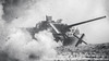 Südwind 2017 (GrandJr) Tags: grandjr nikon d3 28 war ww2 soldier dust ed europe telephoto fx grain violence ngc südwind outdoor canon tank battle soviet real destroyer 70200 su100 explosion