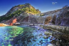 (567/17) Cala Estellenchs, Mallorca (Pablo Arias) Tags: pabloarias photoshop photomatix nxd españa cielo nubes agua mar mediterráneo paisaje redes estellenchs mallorca