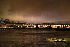 Cruise Terminal (superzookeeper) Tags: 5dmk4 5dmkiv hk hongkong canoneos5dmarkiv ef2470mmf28liiusm kwuntongpromenade kwuntong night eos boat canoe cruiseterminal reflection seaside sea water digital