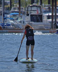 Paddleboard (swong95765) Tags: paddle board woman female lady river water portland exercise sport recreation