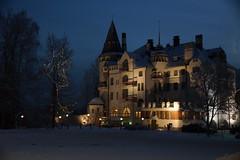 Valtionhotelli, Imatra (Sergei P. Zubkov) Tags: finland december 2012