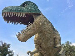 IMG_0306 (vxla) Tags: 2017 2010s vxla california travel summer september westcoast iphone losangeles cabazondinosaurs claudebellsdinosaurs riversidecounty dinosaur park palmsprings statue sculpture