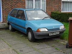 1988 Citroën AX 11 TRE (Neil's classics) Tags: vehicle ax abandoned 11tre 1988 citroën