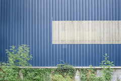 Brecon (Crusty Streets) Tags: brecon powys wales industrial unit blue