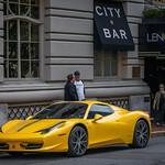 Ferrari 458 Spider outside The Lenox Hotel (Boston, MA) thumbnail