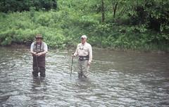 Kettle Creek at Route 144 Bridge (rentavet) Tags: minoltamaxxum5000 analog konicacenturia400asa kettlecreekpottercounty exp2006 troutfishing pawilds june2017 rokinar70200mm