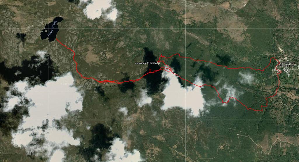 03.- Cascada e Laguna de Sotillo - Mapa
