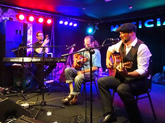 Three Gentle Men - Chris Conway, Steve Parker, Andy Griffiths (unclechristo) Tags: chrisconway steveparker anygriffithsthreegentlemen themusician