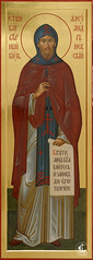 Святой благоверный князь Александр Невский, в схиме Алексий.
