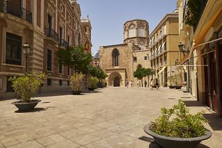 Street in Valencia