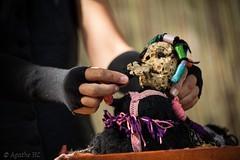 2017-07 - Chalon dans la rue (Agathe HC) Tags: marionnette théâtredobjet fil bobines agathehurtigcadenel agathe artsderue théâtrederue festival bokeh