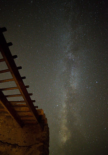 Vía Láctea desde Torre des Verger