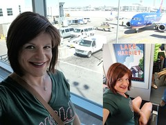 First Flight - First Class! (Bryan Bree Fram) Tags: transgender tg flight flying suncountry airport genderfluid airline friendlyskies