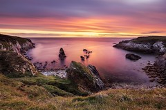 Rhoscolyn sunset (Ollie Pocock) Tags: purple seascape colours coastal northwales anglesey wales canon nisi longexposure water sea sunset