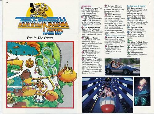 1983 Walt Disney World Magic Kingdom Guide