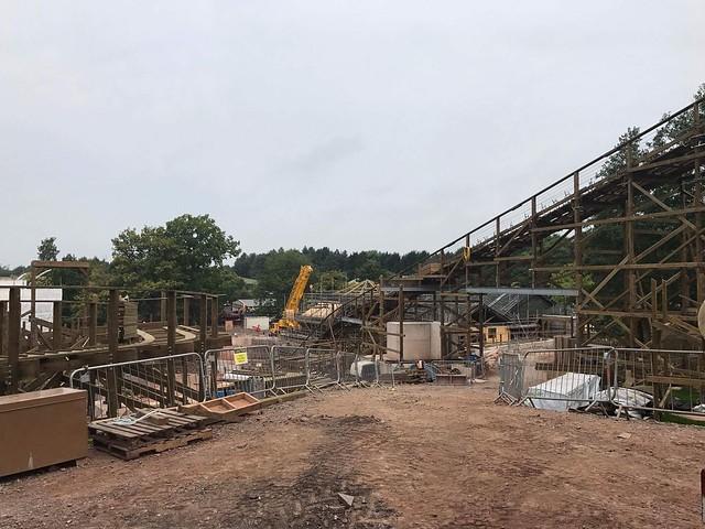 SW8 Construction Site - 3rd September 2017