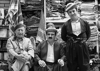 Local men at Qaisery Bazaar, Erbil / Iraqi Kurdistan