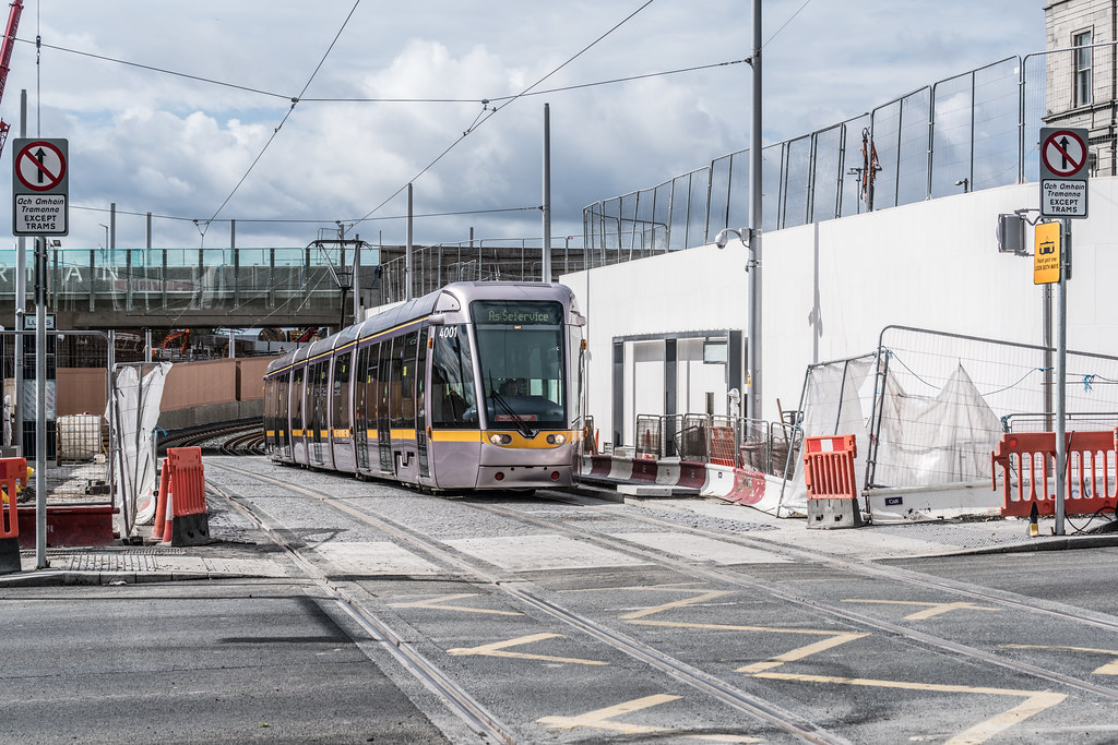 THE NEW LUAS TRAM STOP AT BROADSTONE [TESTING PHASE UNTIL EARLY DECEMBER]-1324702