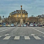 Paris France  ~ Statue on the Colonne De Juillet roundabout  ~ Place de la Bastille thumbnail