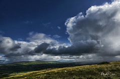 Rain is coming (marko.erman) Tags: ireland paysages irlande côte griananofaileach rain clouds cloudscape shower storm dark sony outside travel popular light badweather dramatic beautiful
