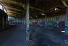 Abandoned Roundhouse 5 (-dangler) Tags: dandangler newyork wny westernnewyork ny abandoned roundhouse railroad manchester train rail old interior inside graffiti tagged dirty trespass