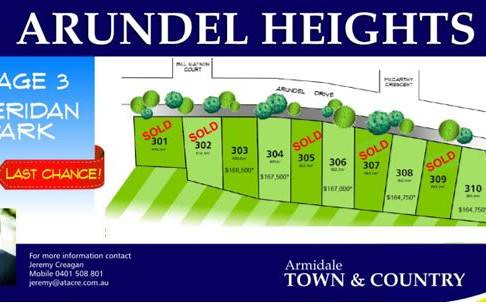 Lot 308 Arundel Heights, Armidale NSW 2350