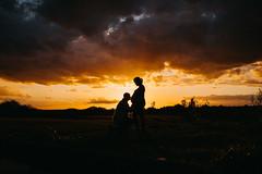 Maternity shoot (tomhumble1) Tags: love kiss shadow fuji fujj sunset maternity pregnant subset silhouette