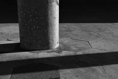St George's Walk (cybertect) Tags: carlzeissplanart50mmf17 croydon sonya7 stgeorgeswalk surrey blackwhite blackandwhite building column hexagon monochrome mosaic shadow tile ronaldwardandpartners