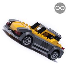 60150 sportscar (KEEP_ON_BRICKING) Tags: lego city 60150 set mod moc legomoc alt alternate alternative remix remake build model sportscar car vehicle cool ride howtobuild youtube tutorial building instructions