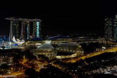 Singapore bay (sagur1) Tags: singaporesandsmarinabay singapore bay sandsmarina hotel singapur night dark singaporebay asia
