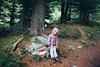 Hiking (mravcolev) Tags: child girl hike nature summer trees portrait canoneos5dmarkii 5dmkii 5d2 35l canonef35mmf14lusm hiking forest tree