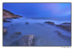 Seda en el Cabo (© Marco Antonio Soler ) Tags: nikon d80 jpg hdr iso atardecer sunset atardeceres landscape seascape mar sea playa beach cabo las huertas alicante alacant españa spain rocas seda 2017 17