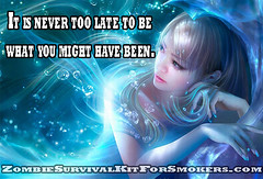It is never too late to be what you might have been. (ZombieSurvivalKitForSmokers) Tags: dugout one hitter zombiesurvivalkitforsmokers marijuanapipe dugoutpipe motivational zombie inspirational zombiesurvivalkit survivalkit weedpipe marijuana reefer weed dope green ganja dragons survival kit madeinusa madeinamerica