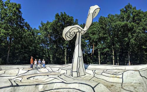 Dubuffet sculpture, Kröller-Müller Museum, Otterlo, Netherlands
