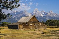 Moulton Barn, Grand Teton NP, USA (birgitmischewski) Tags: grandteton moultonbarn