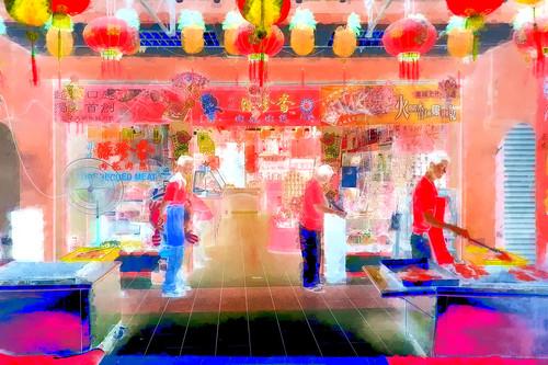 Singapore - Chinese Shop - 21bb